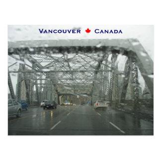 Puente Vancouver Canadá de Burrard Postal