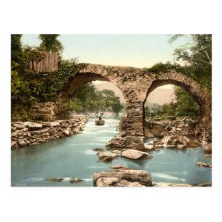 Puente viejo del vertedero, Killarney, condado Postal