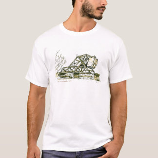 Puente voladizo del tren (de la navaja de camiseta