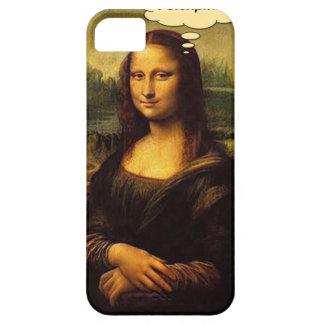 Puercos espines de Mona Lisa Funda Para iPhone SE/5/5s