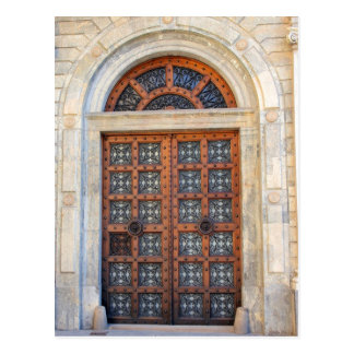 Puerta cuarta vieja de Barcelona - postal