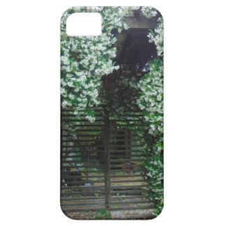 Puerta cubierta en jazmín funda para iPhone SE/5/5s