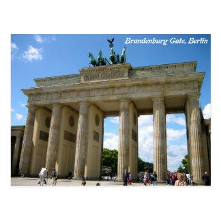 Puerta de Brandeburgo, Berlín Postal