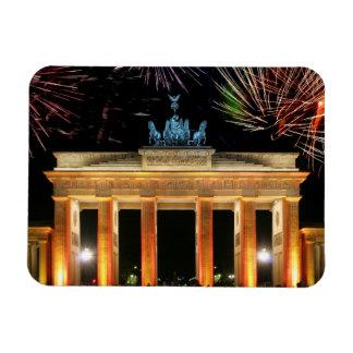 Puerta de Brandeburgo Imán Flexible