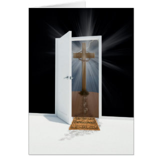 Puerta de Pascua Tarjeta De Felicitación