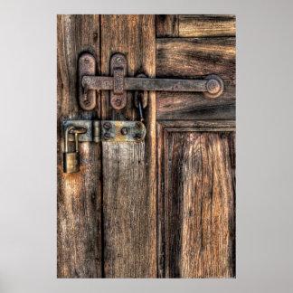 Puerta - el cierre póster