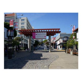 Puerta Japantown, postal de Torii de San Francisco