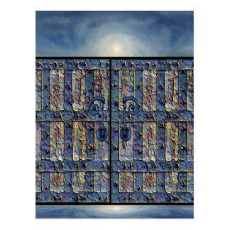 Puerta mística tarjetas postales