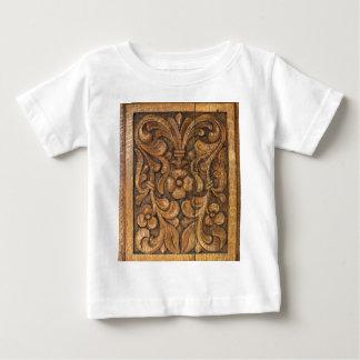 puerta patern camiseta de bebé