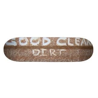 Puerta posterior Talk de la buena suciedad limpia Monopatín 19,6 Cm