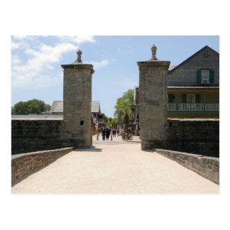 Puerta St Augustine la Florida de la ciudad Postal