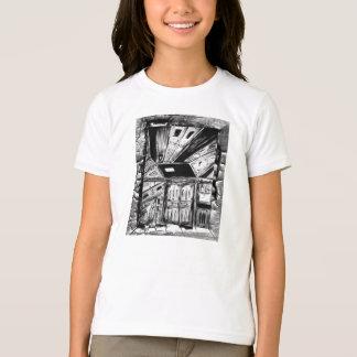 Puertas abiertas y caras camiseta