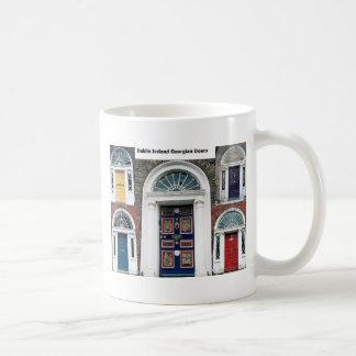 Puertas antiguas de Irlanda - Dublín Taza De Café