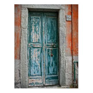 Puertas de Italia - el Cinque Terre - postal