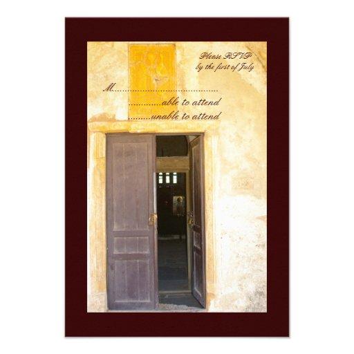 Puertas RSVP de la iglesia Comunicados