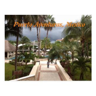 Puerto Aventuras, postal de México