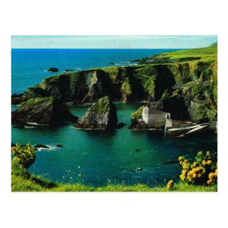 Puerto de Dunquin, Derry, Irlanda, postal del