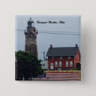 Puerto de Fairport, Ohio 4to del botón de la foto