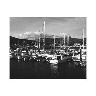 Puerto de la cañada - condado Kerry - Irlanda Lienzo Envuelto Para Galerías