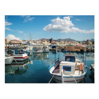 Puerto de la isla de Aegina Postal
