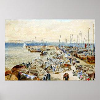 Puerto de New Haven de la rama de Samuel en brazo Póster