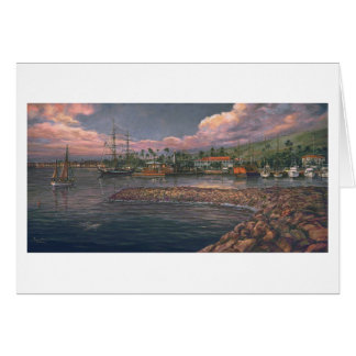 "Puerto de Paul McGehee ""Lahaina en"" la tarjeta"