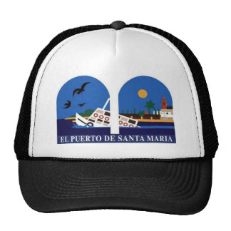 Puerto De Santa Maria Vaporcito Gorro De Camionero