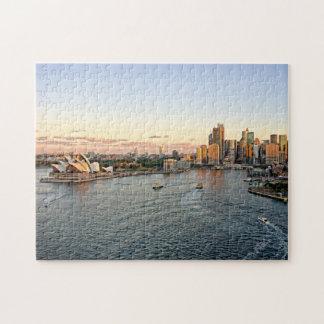 Puerto de Sydney - rompecabezas de Australia