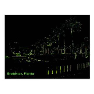 Puerto deportivo de Bradenton la Florida Postal