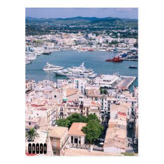Puerto deportivo de Ibiza Tarjeta Postal