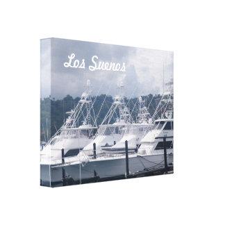 Puerto deportivo del Los Suenos Impresión De Lienzo