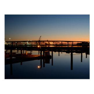 Puerto deportivo del puente y de Martínez de Postal