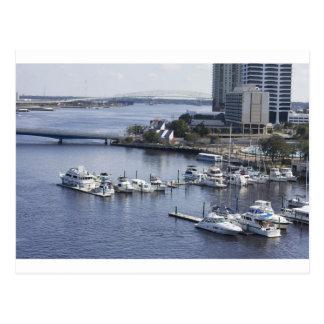 puerto deportivo del sur de Jacksonville del banco Postal