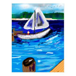 Puerto deportivo postal