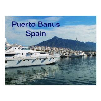 Puerto deportivo, Puerto Banus, España Postal