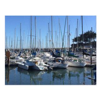 Puerto deportivo, Santa Cruz, California Postal