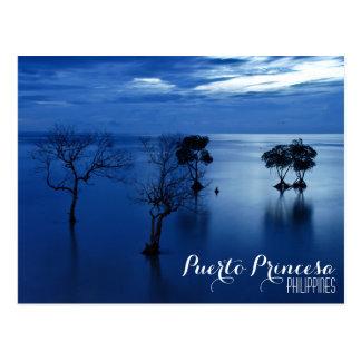 Puerto Princesa, Palawan, postal de Filipinas