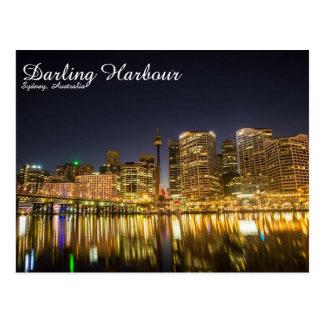 Puerto querido, Sydney - postal