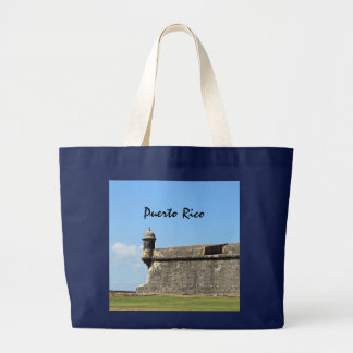 Puerto Rico Bolsa Tela Grande