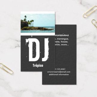 Puerto Rico DJ Tarjeta De Negocios