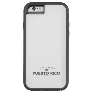Puerto Rico Isla del Encanto Funda Tough Xtreme iPhone 6