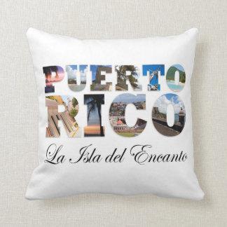 Puerto Rico La Isla Del Encanto Cojín