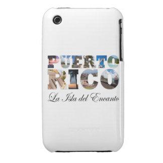 Puerto Rico La Isla Del Encanto Case-Mate iPhone 3 Cobertura