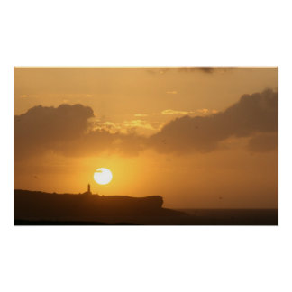 Puesta de Sol en Santander Impresiones