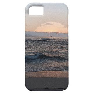 Puesta del sol 2014a.png de La Jolla iPhone 5 Case-Mate Protectores