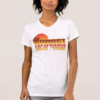 Puesta del sol California Río de Janeiro Ibiza Camisas
