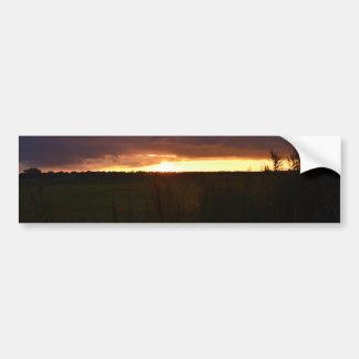 Puesta del sol cerca de Southwold Pegatina Para Coche
