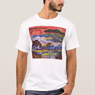 puesta del sol de Catalina, serie de Danny Narens Camiseta