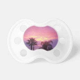 Puesta del sol de Coloful la Florida Chupete