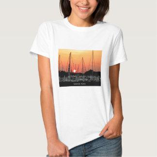 Puesta del sol de Kemah Tejas Camiseta